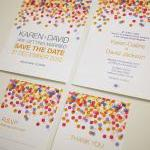 Colorful Confetti - Wedding Invitat..