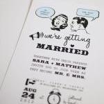 1950's Retro - Wedding Invitation S..