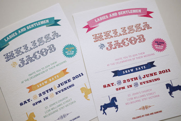 Circus Carnival Wedding Invitation PRINTABLE on Luulla