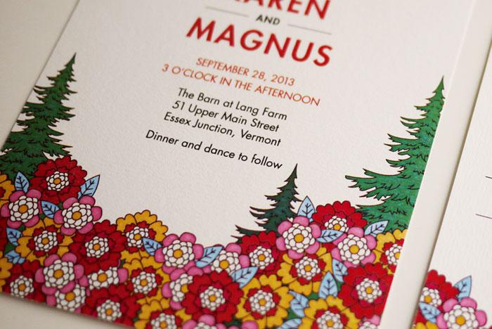 Modern Woodland Wedding Invitation Diy Printable