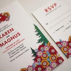 The Woodland Wedding Invitation (PRINTABLE)
